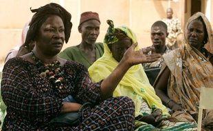 Aminata Traoré à Didieni au Mali le 2 octobre 2006.