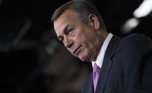 Le républicain John Boehner, le 26 mars 2014.