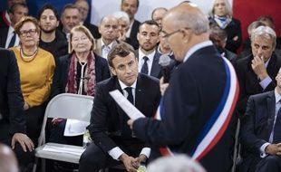 Emmanuel Macron en Corse, le 4 avril 2019.