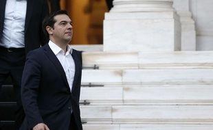 Alexis Tsipras à Athènes, le 8 juillet 2015.