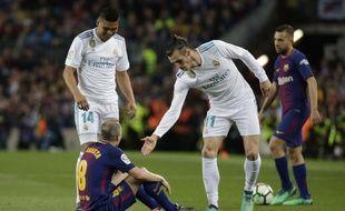 Bale a marqué le deuxième but merengue