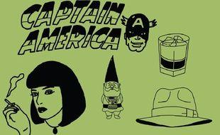 Les illustrations de la chaîne humoristique Pistache sur YouTube.