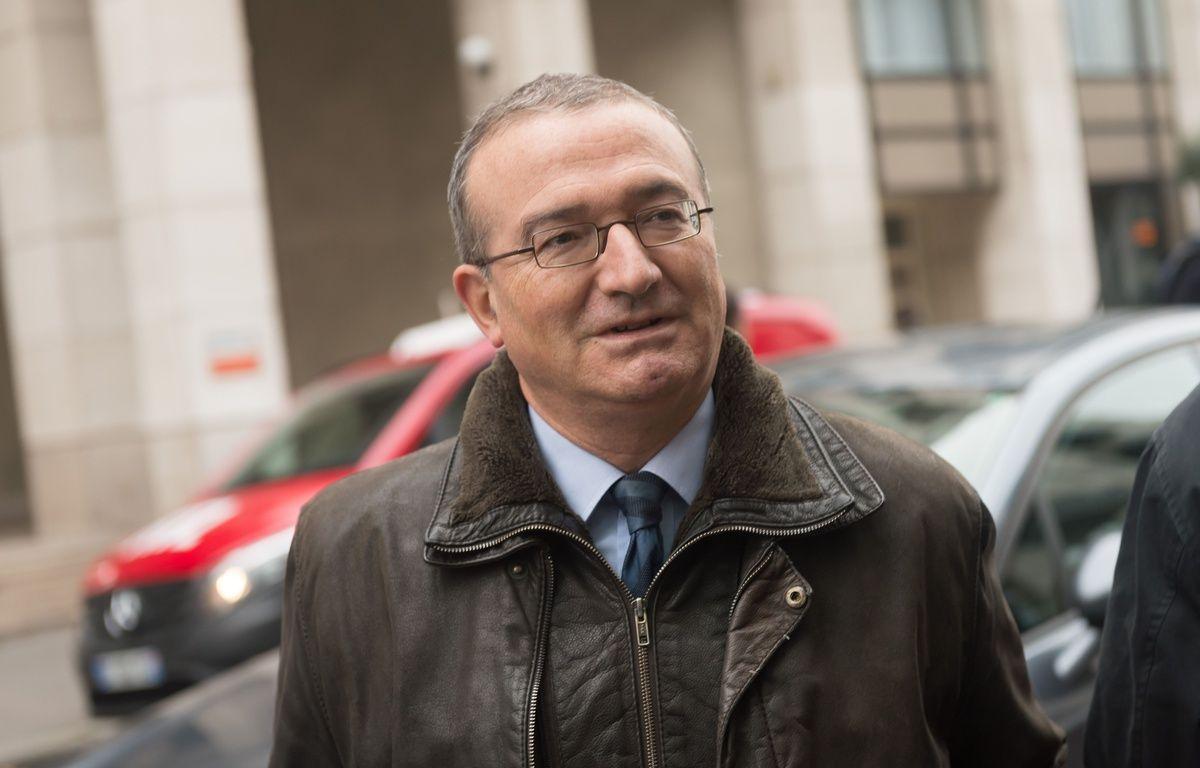 Le député-maire de Crest (Drôme) Hervé Mariton, le 14 décembre 2015 à Paris. – WITT/SIPA