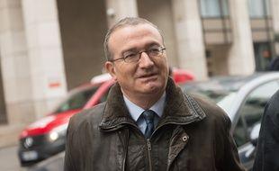 Le député-maire de Crest (Drôme) Hervé Mariton, le 14 décembre 2015 à Paris.