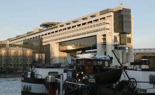 Le ministère des Finances, quai de Bercy à Paris.