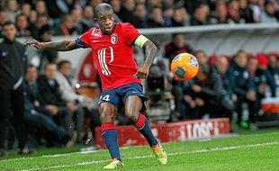 Rio Mavuba, le capitaine lillois, figure dans la liste de Didier Deschamps.