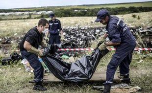 Les victimes du crash MH17 en Ukraine
