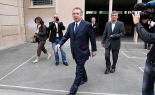 François Bayrou à Pau le 17 juin 2012.