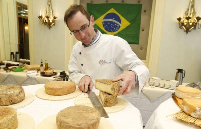 Des fromages brésiliens affinés dans le Nord.