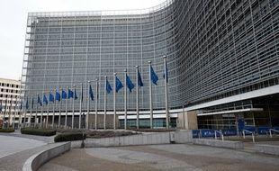 Le Berlaymont, siège de la Commission européenne à Bruxelles.