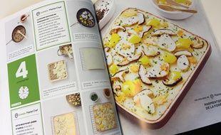 La recette du Parmentier de la forêt dans le livre La Cuisine Végétarienne de Sachiyo Harada, chez Solar