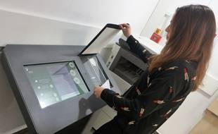 A Nice, les coffres-forts numériques permettent de scanner des documents, des lettres et des photos.