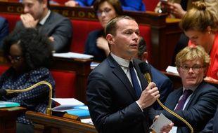Olivier Dussopt, lors des questions au gouvernement. (archives)