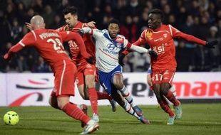 Un but de Michel Bastos a permis à Lyon d'arracher un résultat nul devant Nancy (1-1), mercredi sur son terrain de Gerland au terme d'un match de la 17e journée mal négocié par l'OL face à une formation lorraine généreuse et bien organisée.