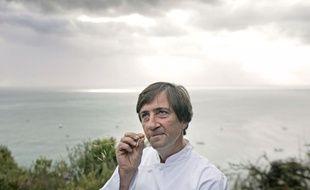 Le chef Olivier Roellinger, en 2005 à Cancale.