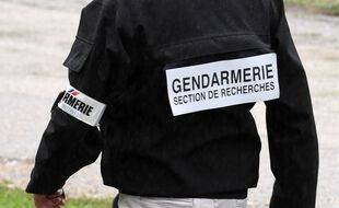 Photo d'illustration d'un gendarme de la section de recherches.
