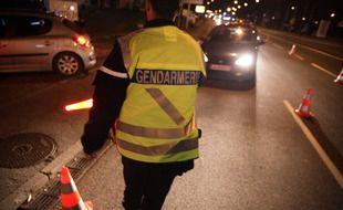 Une opération nocturne de la gendarmerie. (Illustration)