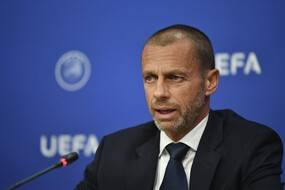 Aleksander Ceferin, le boss de l'Uefa.