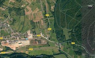 Niederhaslach Google view google maps