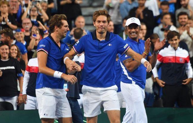 Coupe Davis: Surprise (non), la finale France-Croatie aura bien lieu à Lille