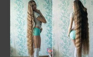 La jeune femme, qui laisse pousser ses cheveux depuis 2003, souhaiterait que sa crinière touche ses pieds.
