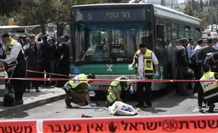 Jérusalem, le 8 octobre 2015. Un Palestinien a poignardé un juif de 25 ans.