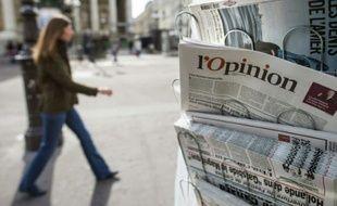 """""""L'opinion"""", en vente le 15 mai 2013"""