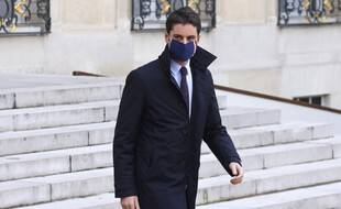 Gabriel Attal, le 20 janvier 2021 à Paris.