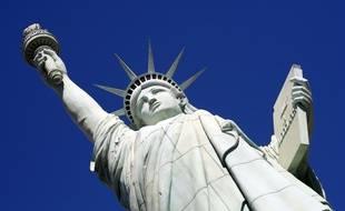 La Statue de la Liberté à New York.