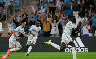 Benjamin Mendy a inscrit un magnifique but lors de la victoire de l'OM contre Bastia (4-1), le 13 septembre 2015.
