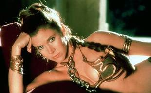 La princesse Leïa dans Star Wars 3: Le retour du Jedi