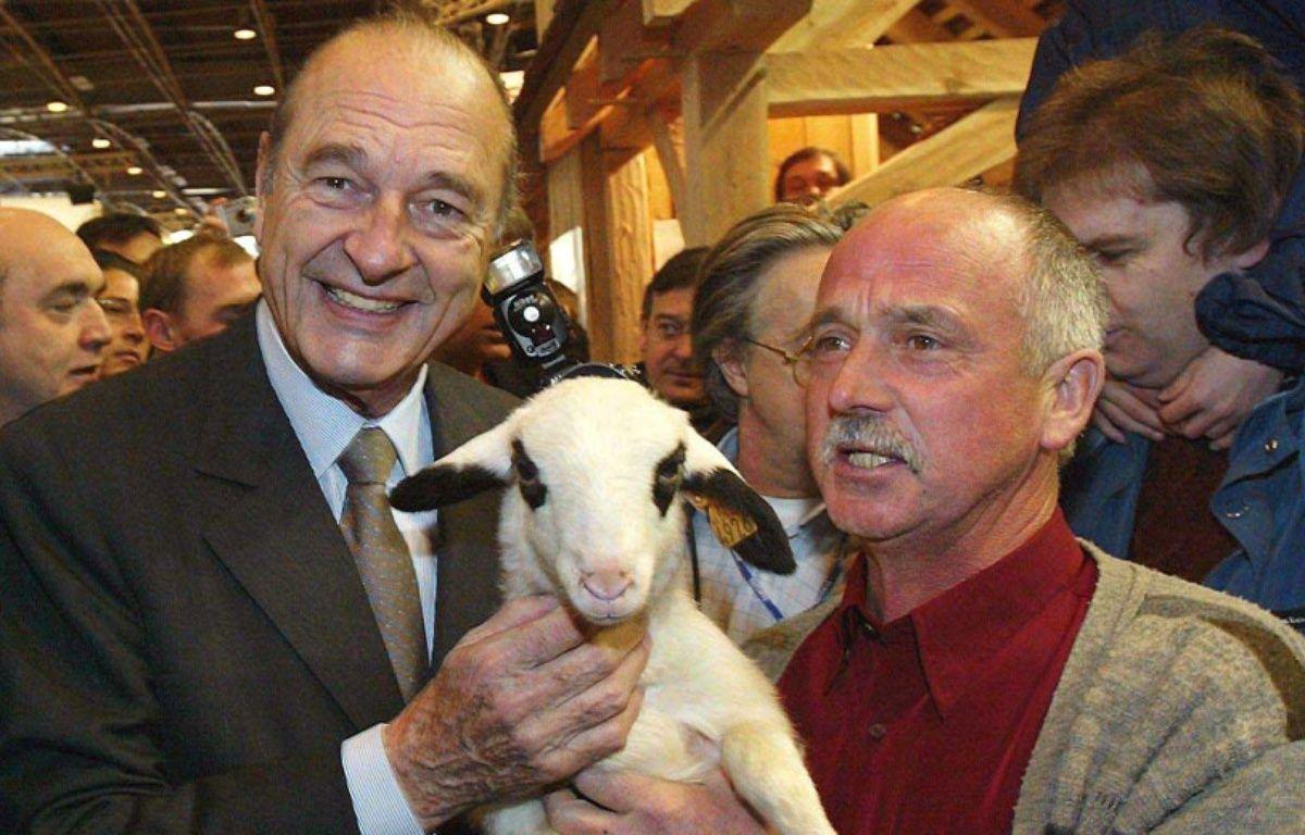 Jacques Chirac au Salon de l'Agriculture – CHESNOT/SIPA