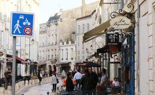 Le centre-ville de La Rochelle.