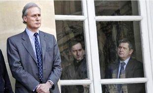 Georges Tron a quitté le gouvernement depuis une semaine.