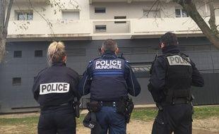Des policiers lors d'une intervention dans le quartier des Izards. (Illustration