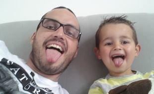 Fabien et son fils Maé.