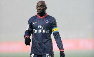 Claude Makelele, capitaine du PSG.