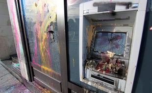 Le centre-ville de Rennes a été saccagé samedi 6 février lors d'une manifestation d'opposants à l'aéroport Notre-Dame-des-Landes.