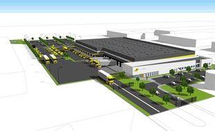 L'entrepôt de la Poste de Carquefou ouvrira en septembre 2019