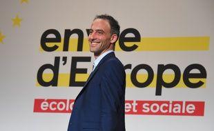 Raphaël Glucksmann à Bordeaux pour son meeting avant les européennes.
