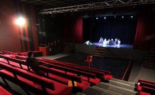 Le Théâtre de la Cité, à Nice (Illustration)