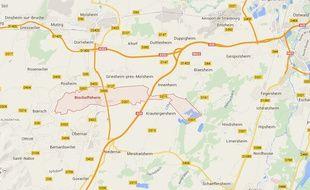 Bischoffsheim. Google Maps