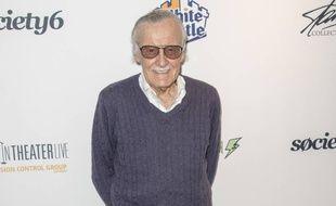 L'auteur des comics Marvel Stan Lee