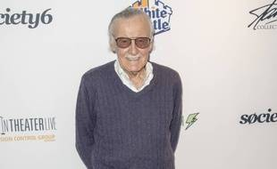 L'auteur des comics Marvel Stan Lee