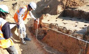 Strasbourg: Première découvertes archéologiques du chantier d'extension du tram F
