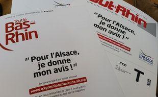 Alsace: Une consultation pour donner la parole aux citoyens sur l'avenir de la collectivité