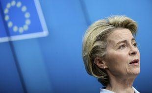 Ursula von der Leyen travaille sur un passeport vert à l'échelle européenne