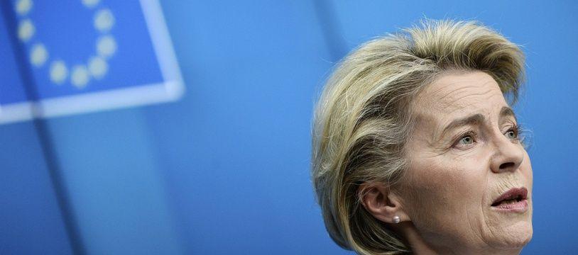 """Ursula von der Leyen a vivement condamné l'affaire Pegasus et rappelé que """"la liberté de la presse est une valeur centrale de l'Union européenne""""."""
