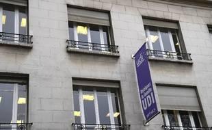 Les locaux de l'UDI, situés rue des Volontaires dans le 15e arrondissement de Paris.