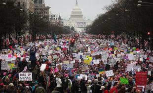 Les manifestants de